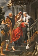 'The Visitation' by Jacob Jordaens, Dayton Art Institute.JPG