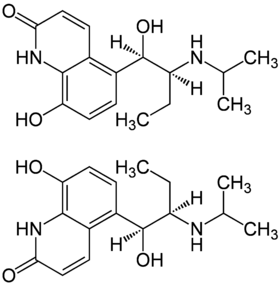 (±)-Procaterol Enantiomers Structural Formula.png
