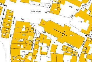 Plan Cadastral Saint Georges Haute Ville