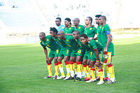 The Cameroon national football team in 2009