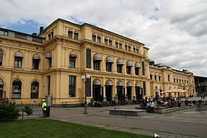 Gardermoen Line - Image: Østbanen sjøsiden