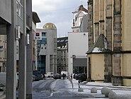 Ústí nad Labem - ulice U kostela