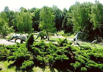 Silesian Park - Image: Śląski Ogród Zoologiczny kotlina dinozaurów