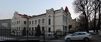 Igor Sikorsky Kyiv Polytechnic Institute - Building of old dining hall (part of the original building complex)