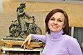 Автор памятника - скульптор Полина Горбунова.JPG