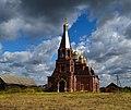 Вид на церковь Вознесения Господня. Большое Руново Каширского района.jpg
