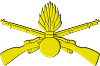 25th Guards Rifle Division - Image: Емблема механізованих військ (2007)