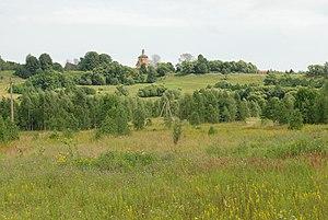 Mosalsky District - Church of the Epiphany, Village Lensk, Mosalsky District