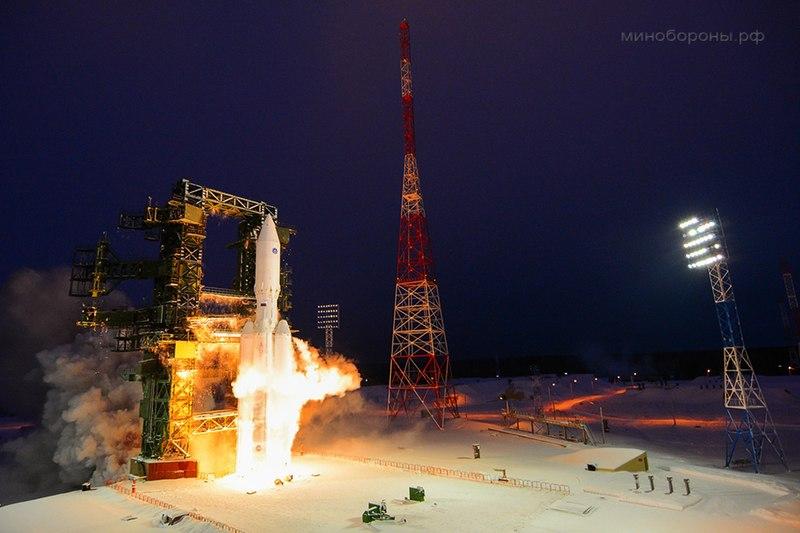 Первый испытательный пуск «Ангара-А5»