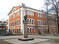 Санкт-Петербург. Комсомола улица,1-3. Памятник М.Ф.Фрунзе.jpg