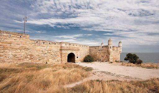 Yeni-Kale fortress in Kerch, Ukraine