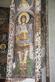 Фреска на стубу у Манасији