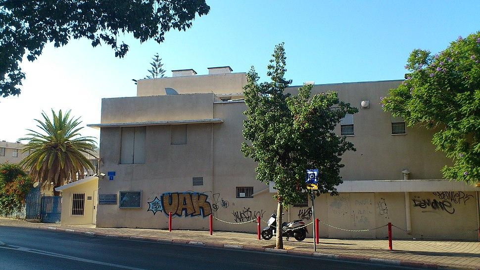 המרכז למיפוי ישראל - כניסה ראשית