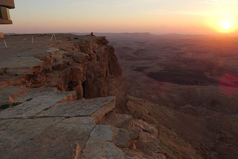 המקומות רומנטיים בישראל - מצפה רמון