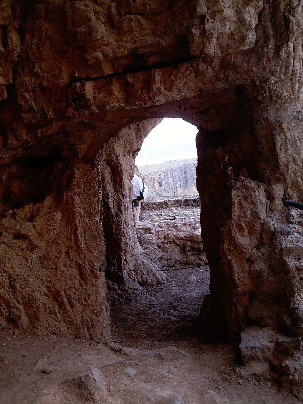 נוף מהמצודה בארבל