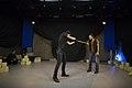 نمایش هملت در قم به کارگردانی علی علوی و گروه تئاتر گاراژ به روی صحنه رفت hamlet Garage Theater qom 01.jpg