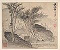 清 梅清 為澤翁倣各家山水圖 冊-Landscapes after Ancient Masters MET DP160459.jpg