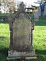 -2019-11-30 Headstone of Amos Osborne Drowned 1906, aged 17, Trimingham churchyard.JPG