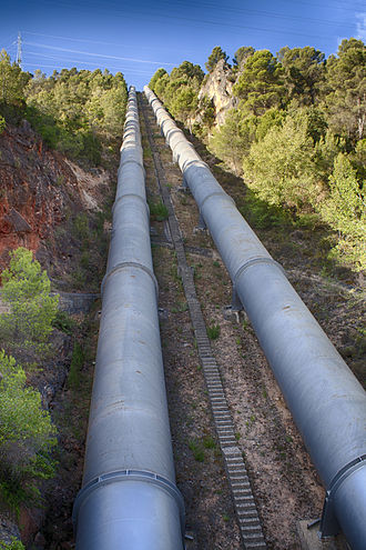 Tagus-Segura Water Transfer - Bolarque Reservoir.