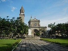 02237jfManila Cathedral Intramuros Manila Palacio del Gobernador Landmarksfvf 12