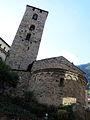 039 Sant Esteve (Andorra la Vella), absis i campanar.JPG