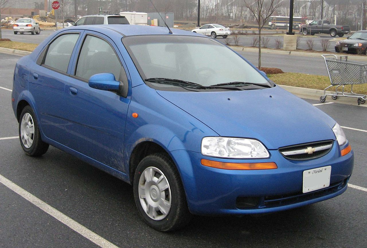 All Chevy chevy aveo 2006 : File:04-06 Chevrolet Aveo sedan 2.jpg - Wikimedia Commons
