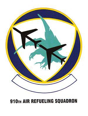 910th Air Refueling Squadron - Image: 0910 AIR REFUELING SQUADRON OP