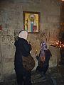 097 Monastère de Djvari Dévotion à Sainte Ninon.JPG