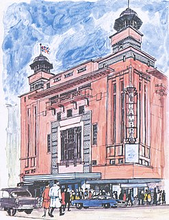 Alhambra Theatre Glasgow former theatre in Glasgow, Scotland