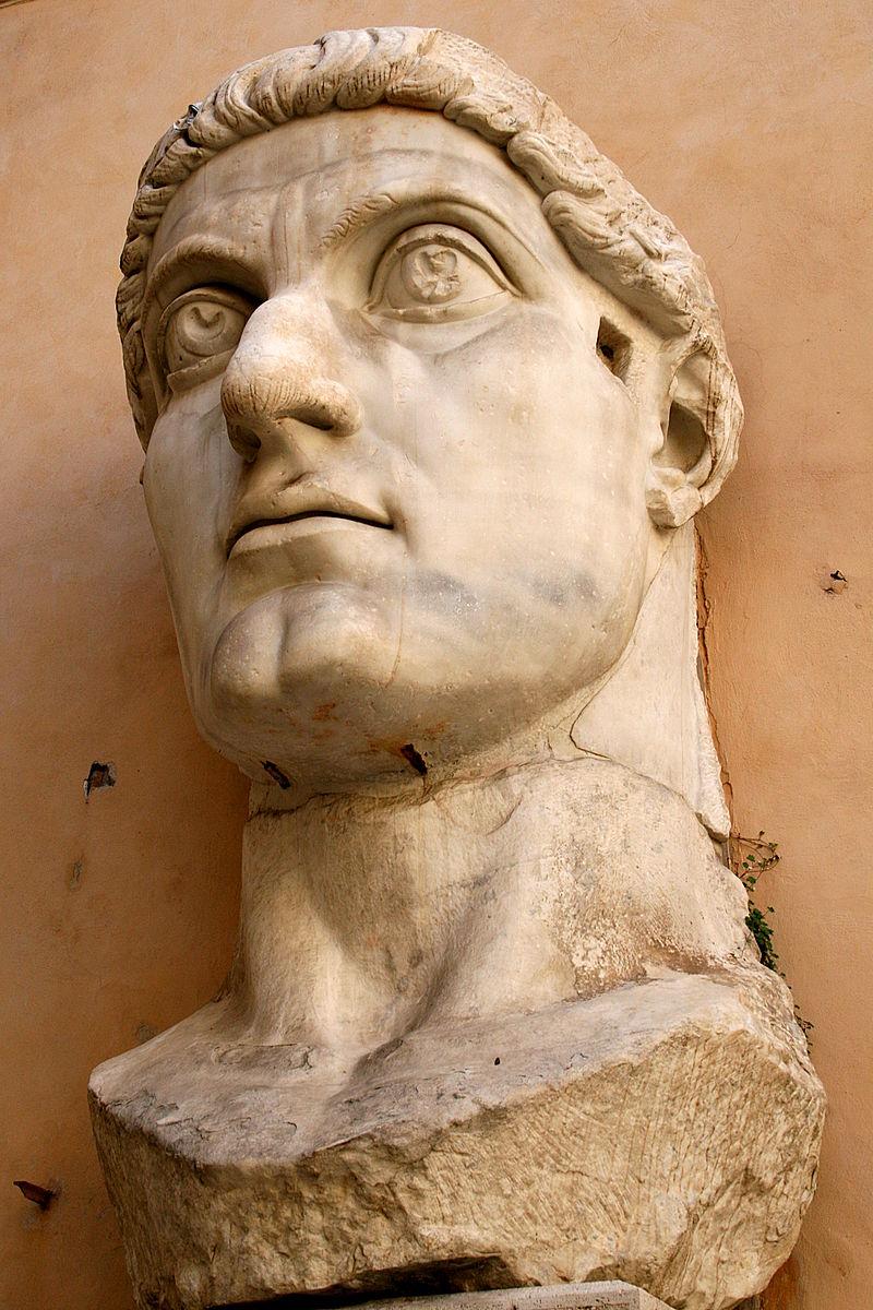 Constantino, el romano precursor del cristianismo 800px-0_Constantinus_I_-_Palazzo_dei_Conservatori_%282%29