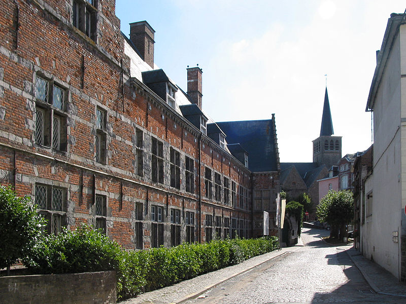Lessines  (Belgium), the Hospital Our Lady With the Rose (founded in 1242).