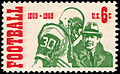 100th Anniversary Intercollegiate Football 6c 1969 issue U.S. stamp.jpg