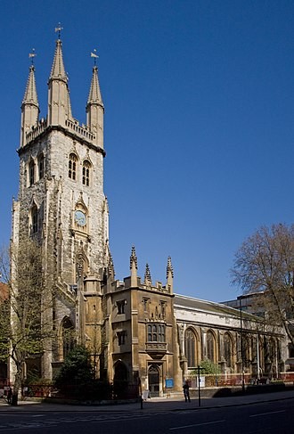 St Sepulchre-without-Newgate - Image: 1064640 Church of St Sepulchre