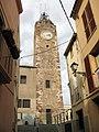 110 Torre del Rellotge, des del c. de l'Església (Olesa).jpg