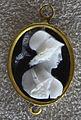 118 artista rinascimentale, busto di minerva, xvi sec., calcedonio.JPG