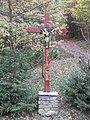 1190 Cobenzl - Bei der Kreuzeiche - Rotes Kreuz IMG 1988.jpg