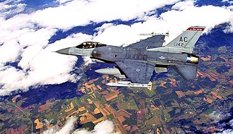 New Jersey Air National Guard - 119th Fighter Squadron - General Dynamics F-16C Block 25B Fighting Falcon 83-1142,  The 119th  is the oldest unit in the New Jersey Air National Guard, having over 90 years of service to the state and nation