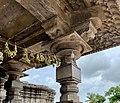 12th century Thousand Pillar temple, Hanumkonda, Telangana, India - 6.jpg