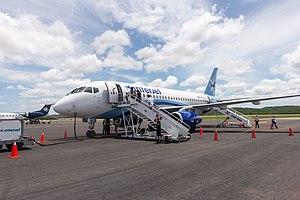 Campeche International Airport - Image: 15 07 15 Aeropuerto Internacional Ing Alberto Acuña Ongay Ralf R WMA 0912