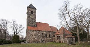 Schönefeld - Schönefeld village church