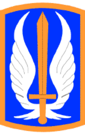 17th Aviation Brigade (United States) - 17th Aviation Brigade shoulder sleeve insignia