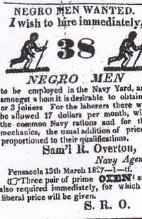 Slave labor on United States military installations 1799–1863 Slavery in the US military