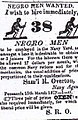 1827 Navy Agent Samuel R. Ovrton ad for 38 Negro men.jpg