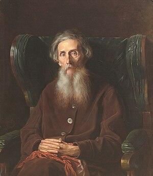 Vladimir Dal - Dal's portrait by Vasily Perov
