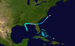 1885 Atlantic hurricane 6 track.png