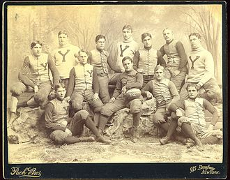 1892 Yale Bulldogs football team - Image: 1892 Yale Bulldogs