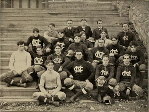 1899 North Carolina Tar Heels football team - Image: 1899 North Carolina football team