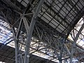 18 Estació de França, estructura de la coberta metàl·lica.JPG
