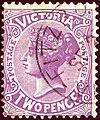 1901ca 2d Victoria Fitzroy Yv130 Mi134A SG387.jpg