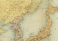 1904 Vladivostok detail Maps of the Far East by Bartholomew BPL 12182.png